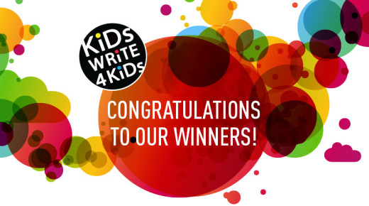 Congratulations to the Recipients of the Kids Write 4 Kids Creative Challenge