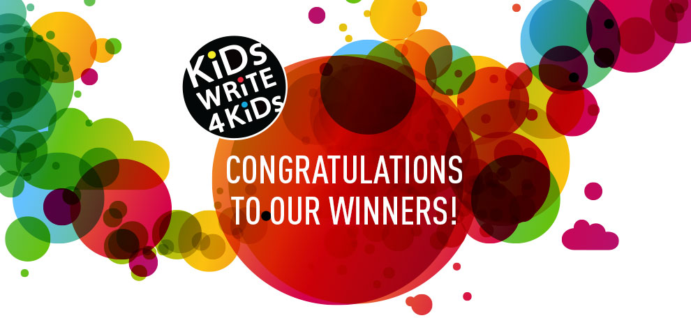 Kids Write 4 Kids winner announcement