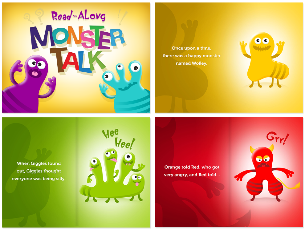 Monster Talk - an ebook download from Apple iBookstore