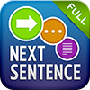 Next Sentence app for iOS and Android