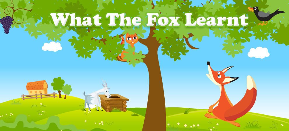 What the Fox Learnt  - Aesop's fables - book download at Apple iBookstore