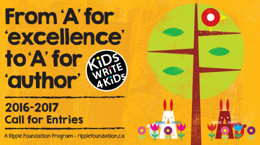 Kids Write 4 Kids Creative Challenge