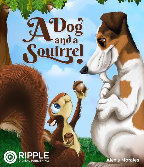A Dog and a Squirrel