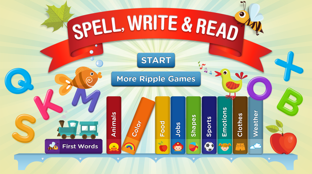Spell, Write and Read